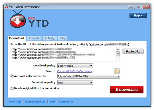 YTD Video Downloader Pro 5.9.2 Crack