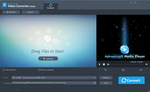 Apowersoft Video Converter Studio 4.7.7 Crack