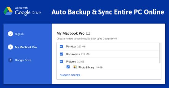 Google Backup and Sync 3.40.8921 Crack