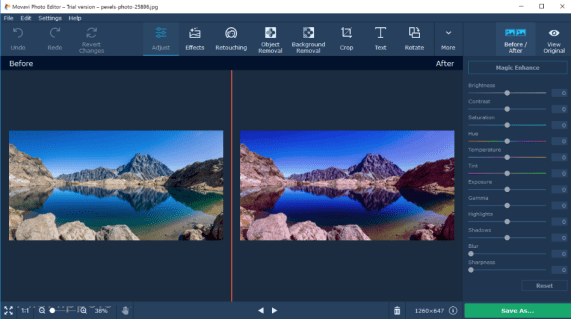 Movavi Photo Editor 5.5.0 Crack