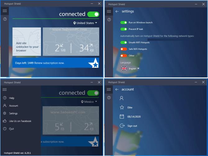 Hotspot Shield Elite 7.11.0 Crack