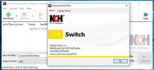 NCH Switch Sound File Converter