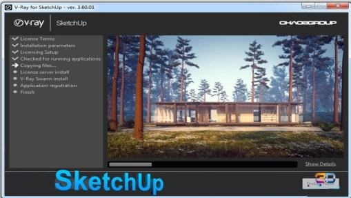 VRay 3.60.04 For SketchUp Crack