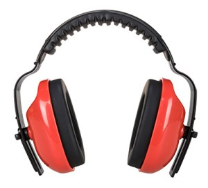 PW48 - PW Classic Plus Ear Muff Red