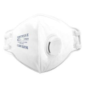 FFP3 Valved Respirator (20) - White - p351