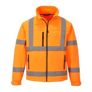 S424 - Hi-Vis Classic Softshell Jacket (3L) Orange