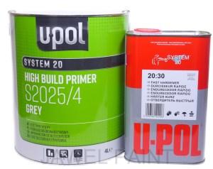 U-POL S2025 HIGH BUILD 2K PRIMER WITH S2030 HARDENER