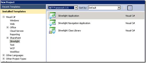 Develop a Sandboxed Silverlight 3.0 Web part for SharePoint 2010 (2/6)