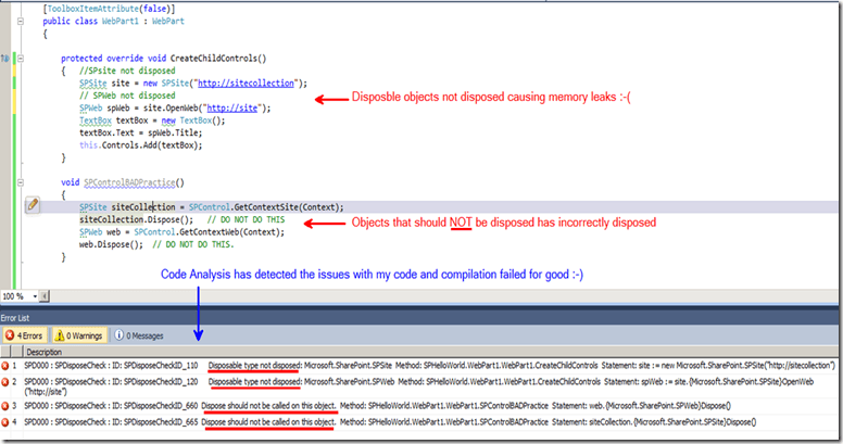 Improving the quality of your Custom SharePoint 2010 Solutions via continues Integration(CI) with Team foundation Server 2010 (5/6)
