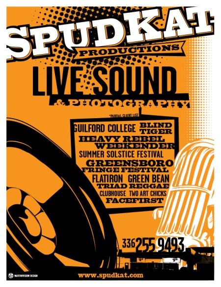 SpudKat_Live-Sound_FLYER