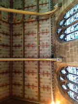 ceiling in St Mary's Church