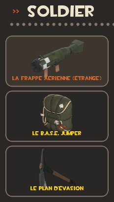 Soldier loadout