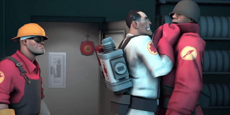 """WHERE HAVE YOU BEEN SENDING IT?"" ""Medic, have you been working out?"""