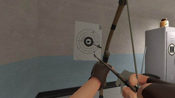 The Huntsman is the only weapon I can think of with an accuracy mechanic, and if you ever ecnounter it you're using the weapon wrong.