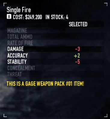 Lowered firing speed? Less damage? Great, since I'm hitting more often it balances out!