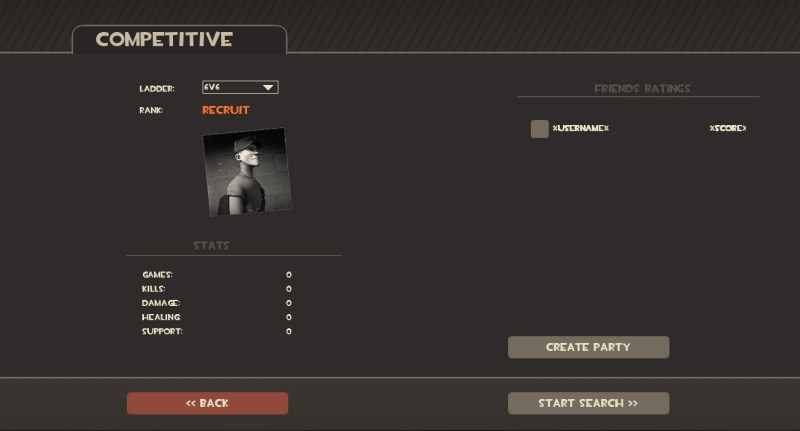 tf2 competitive matchmaking beta invite It's a small version of the competitive matchmaking beta it's actually a real thing turns out a small update yesterday added a console command that enables you to open the competitive matchmaking menu it works in exactly the same way, giving you a steam overlay from which you can invite friends.
