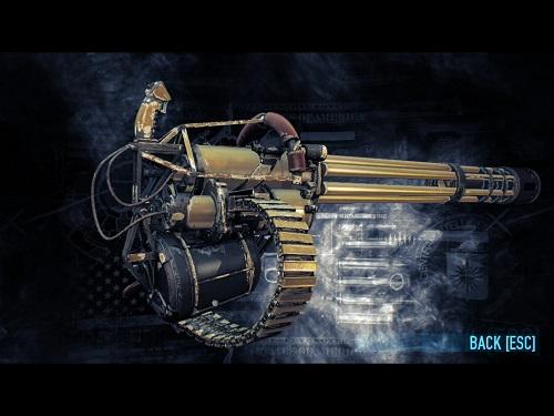 """Big Spender"" Vulcan Minigun"