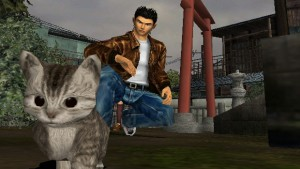 Since the series only had two games, Ryo may never avenge his father, but at least he was able to feed a kitten Sega brand Tuna.