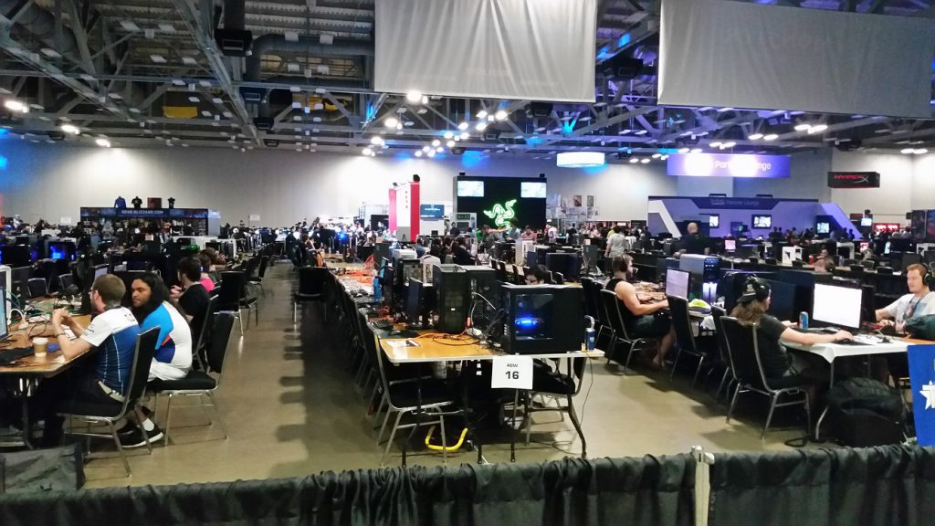 There was a huge portion of the con cordoned off for those who brought their computers to game against each other. Dreamhack originated as a LAN party and has not forgotten its roots.