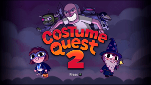 Costume Quest Title