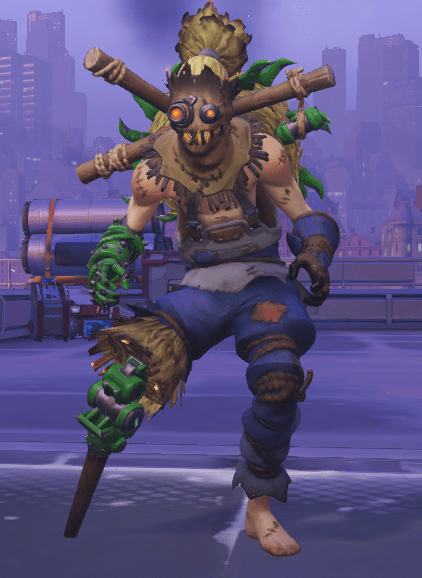 His custom skin is particularly bad at making him look like a completely different character. Doesn't mean I don't wish I had it.