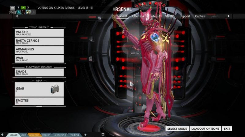 Hot pink, courtesy of Valkyr Code Wolfy.