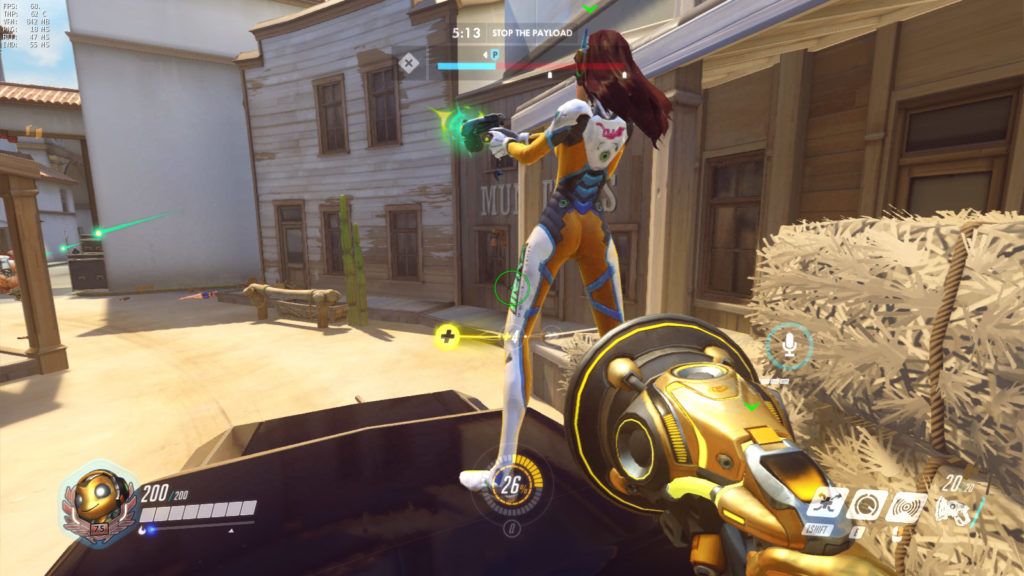 DVa feels like she's playing two different games at once. She's a great break if you usually play one-trick characters like Lucio.