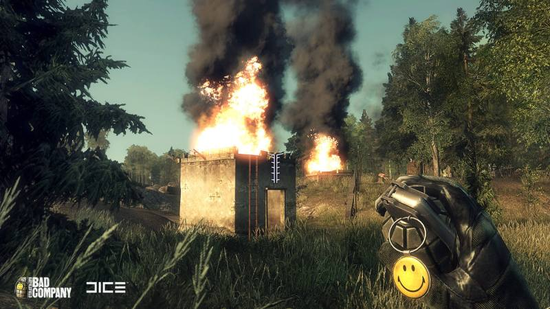 I think the smiley on the grenade was the only thing I DID like... Didn't miss it in 2 though.