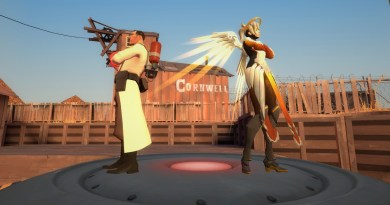 Different games, exactly the same damn problems. Medic and mercy