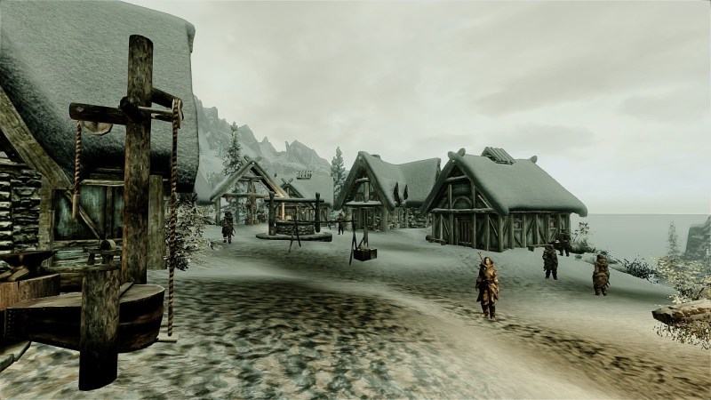 Not a normal Nord village...