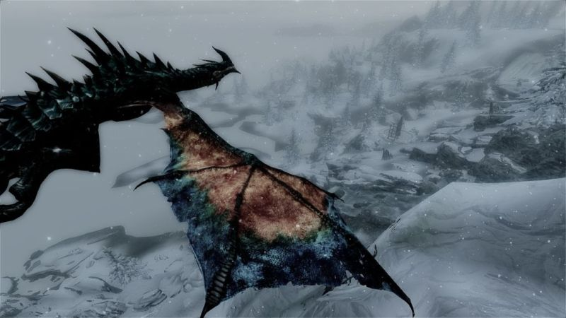 Dragon over Solstheim