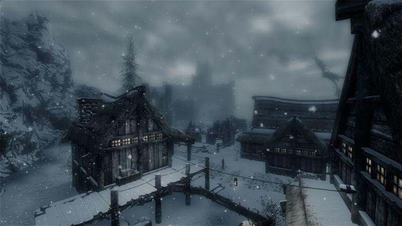 The unlucky city of Winterhold