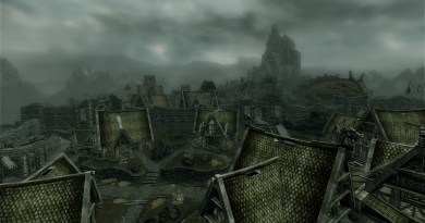 The city of Whiterun