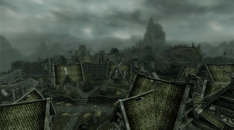 The city of Whiterun