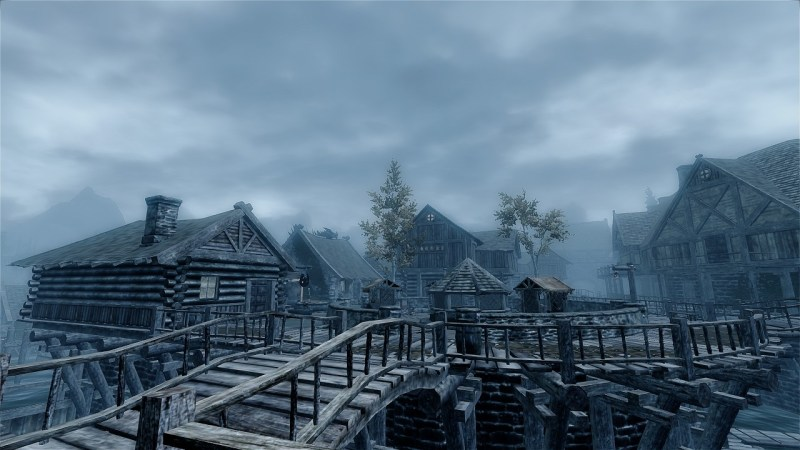 The wooden land of Riften
