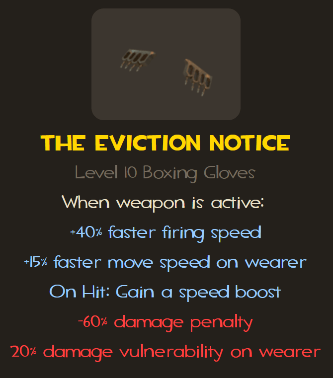 Eviction Notice stats at the point of writing
