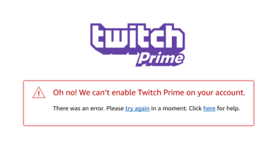 Twitch Prime ain't working, boys!