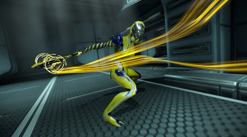Mag, in my normal yellow and blue colours.