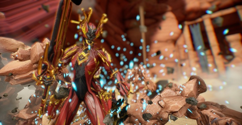This Valkyr has nothing to do with the Plains of Eidolon, but she looks nice.