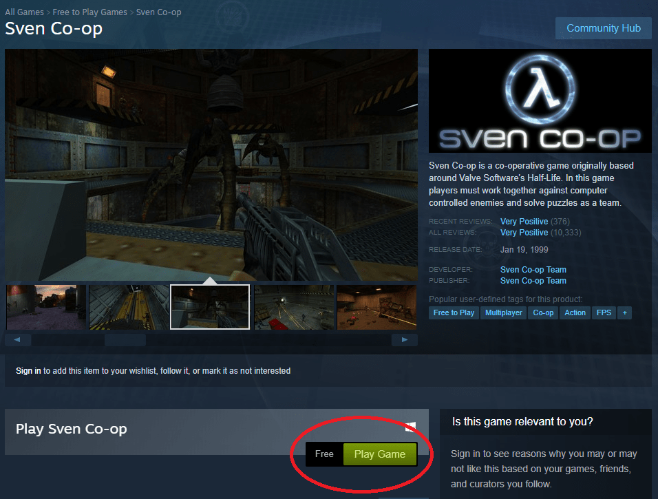 how to get half life 1 for free