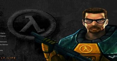Half-Life main menu
