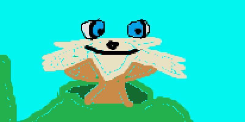 An unfinished MS Paint Pip, staring into your hollow soul.