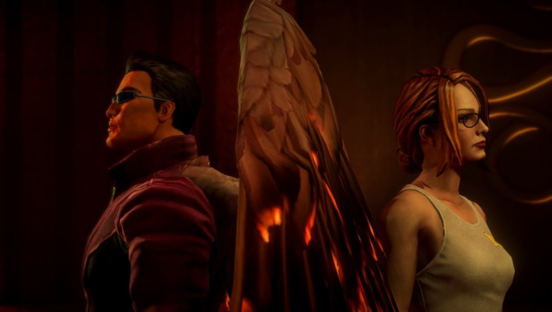 Gat and Kinzie, with about as much chemistry as Oleg and Pierce from Saints Row 3