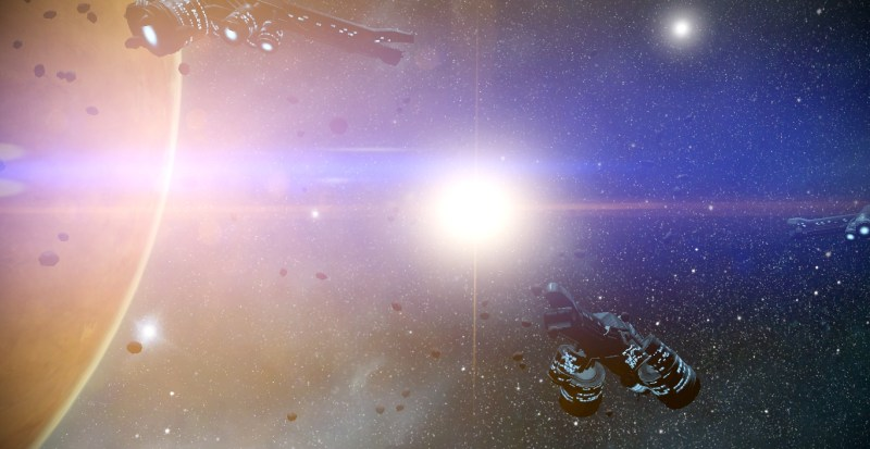 Corpus Ships and the light of the Sun