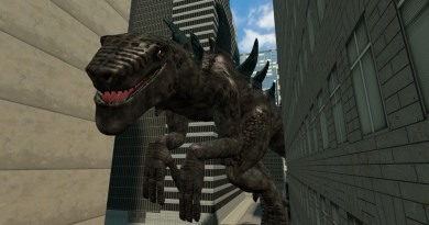 Gozilla 1998 is a massive iguana. No, radiation doesn't turn iguanas into massive, dinosaur-like beings. It kinda just kills them like most other things.