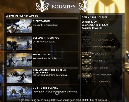 Oh look, bounties!
