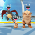 Growlithe, my third Pokemon after the default Charmander and my Ekans, was at that gym for 5 hours alongside sister's Growlithe and a stranger's Charizard.