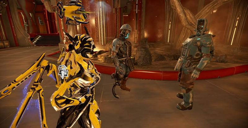 Khora in the Strata Relay, looking at some Fortuna blokes.