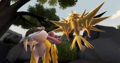 Raikou and Zapdos - electric legendaries