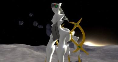 Arceus the Pokemon God